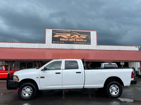 2012 RAM Ram Pickup 3500 for sale at Ridley Auto Sales, Inc. in White Pine TN