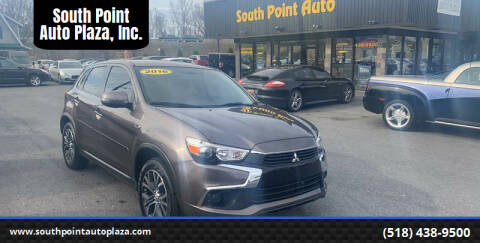 2016 Mitsubishi Outlander Sport for sale at South Point Auto Plaza, Inc. in Albany NY