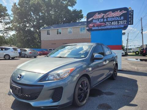 2012 Mazda MAZDA3 for sale at Auto Outlet Sales and Rentals in Norfolk VA