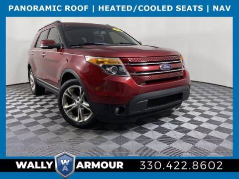 2015 Ford Explorer for sale at Wally Armour Chrysler Dodge Jeep Ram in Alliance OH
