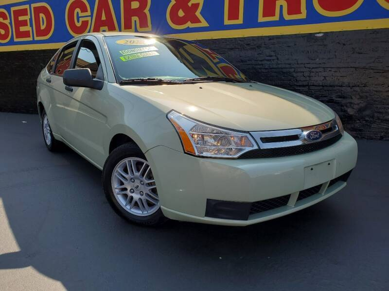 2010 Ford Focus for sale at B & R Motor Sales in Chicago IL