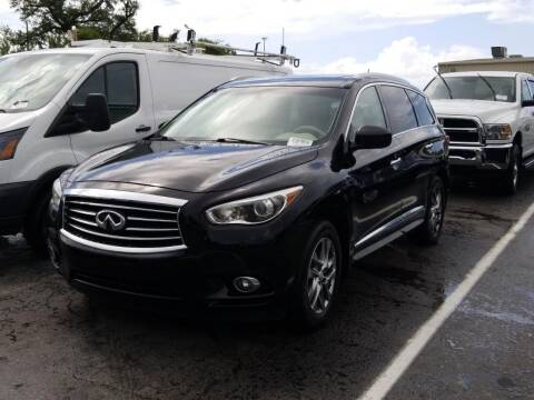 2013 Infiniti JX35 for sale at Gulf Financial Solutions Inc DBA GFS Autos in Panama City Beach FL