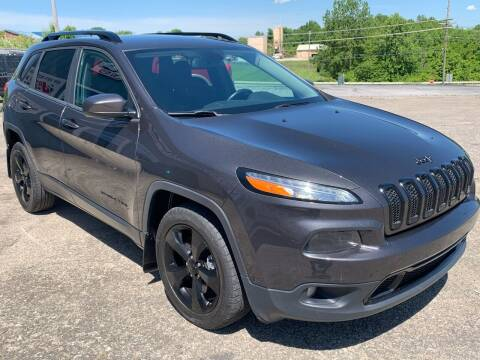 2016 Jeep Cherokee for sale at JEFF LEE AUTOMOTIVE in Glasgow KY