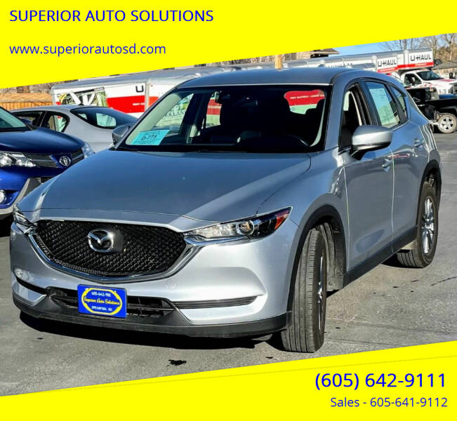 2018 Mazda CX-5 for sale at SUPERIOR AUTO SOLUTIONS in Spearfish SD