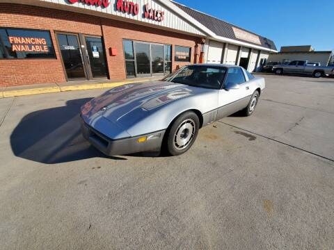 1984 Chevrolet Corvette for sale at Eden's Auto Sales in Valley Center KS