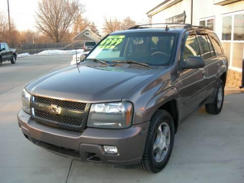 2008 Chevrolet TrailBlazer for sale at The Auto Specialist Inc. in Des Moines IA