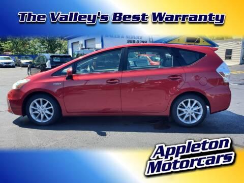 2014 Toyota Prius v for sale at Appleton Motorcars Sales & Service in Appleton WI