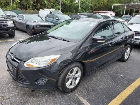 2014 Ford Focus for sale at America Auto Wholesale Inc in Miami FL