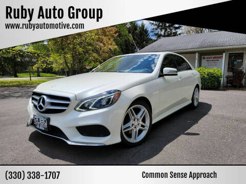 2014 Mercedes-Benz E-Class for sale at Ruby Auto Group in Hudson OH