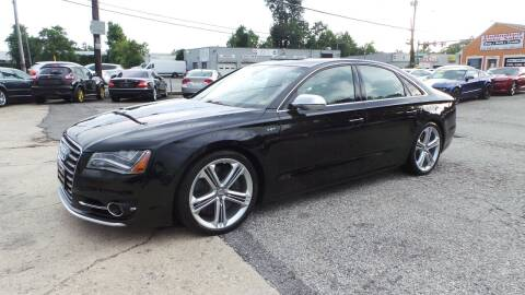2013 Audi S8 for sale at Unlimited Auto Sales in Upper Marlboro MD
