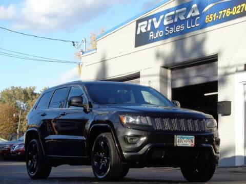 2015 Jeep Grand Cherokee for sale at Rivera Auto Sales LLC in Saint Paul MN