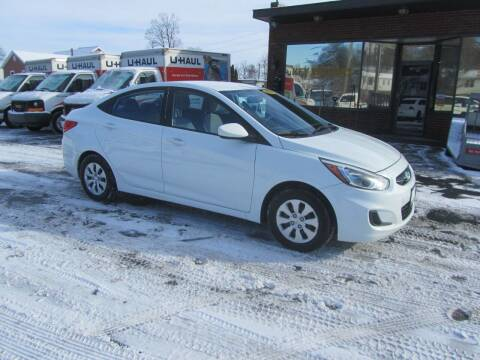 2015 Hyundai Accent for sale at Key Motors in Mechanicville NY
