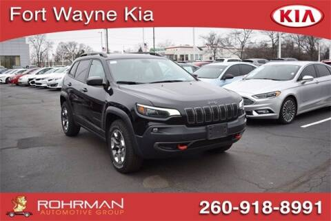 2019 Jeep Cherokee for sale at BOB ROHRMAN FORT WAYNE TOYOTA in Fort Wayne IN