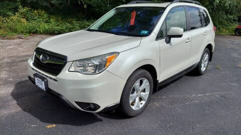 2014 Subaru Forester for sale at Route 4 Motors INC in Epsom NH