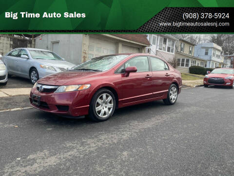 2010 Honda Civic for sale at Big Time Auto Sales in Vauxhall NJ