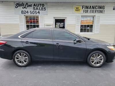 2016 Toyota Camry for sale at STATE LINE AUTO SALES in New Church VA