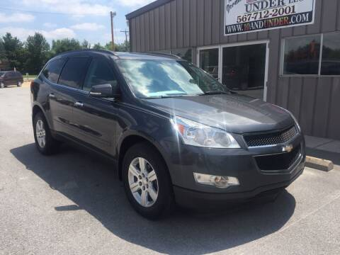 2011 Chevrolet Traverse for sale at KEITH JORDAN'S 10 & UNDER in Lima OH
