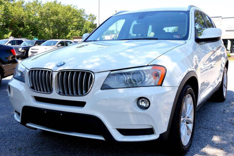 2013 BMW X3 for sale at Prime Auto Sales LLC in Virginia Beach VA