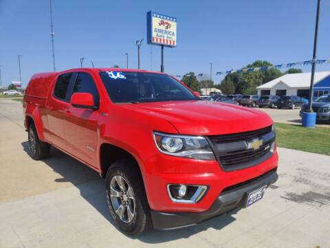 2016 Chevrolet Colorado for sale at America Auto Inc in South Sioux City NE