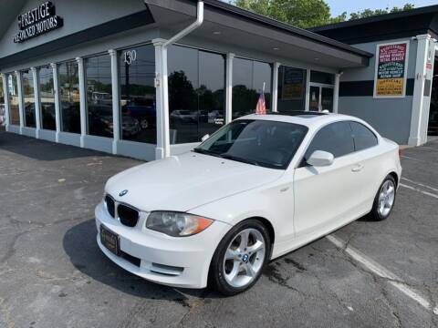 2010 BMW 1 Series for sale at Prestige Pre - Owned Motors in New Windsor NY
