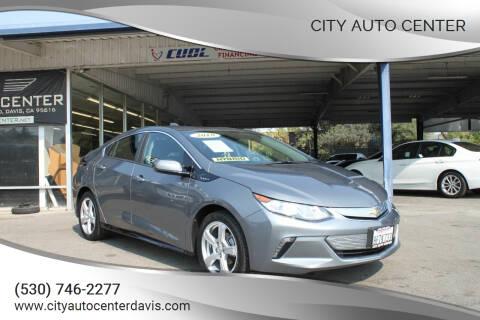 2018 Chevrolet Volt for sale at City Auto Center in Davis CA