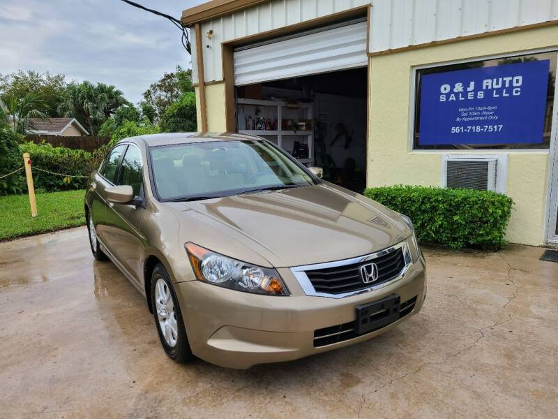 2009 Honda Accord for sale at O & J Auto Sales in Royal Palm Beach FL