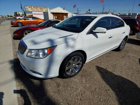 2013 Buick LaCrosse for sale at ACE AUTO SALES in Lake Havasu City AZ