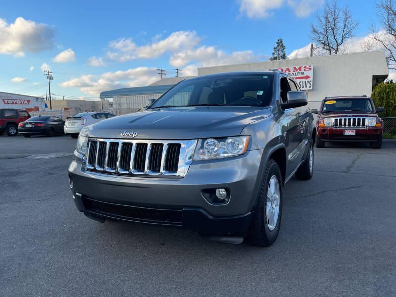 2012 Jeep Grand Cherokee for sale at Adams Auto Sales in Sacramento CA
