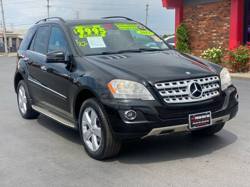 2011 Mercedes-Benz M-Class for sale at Premium Motors in Louisville KY
