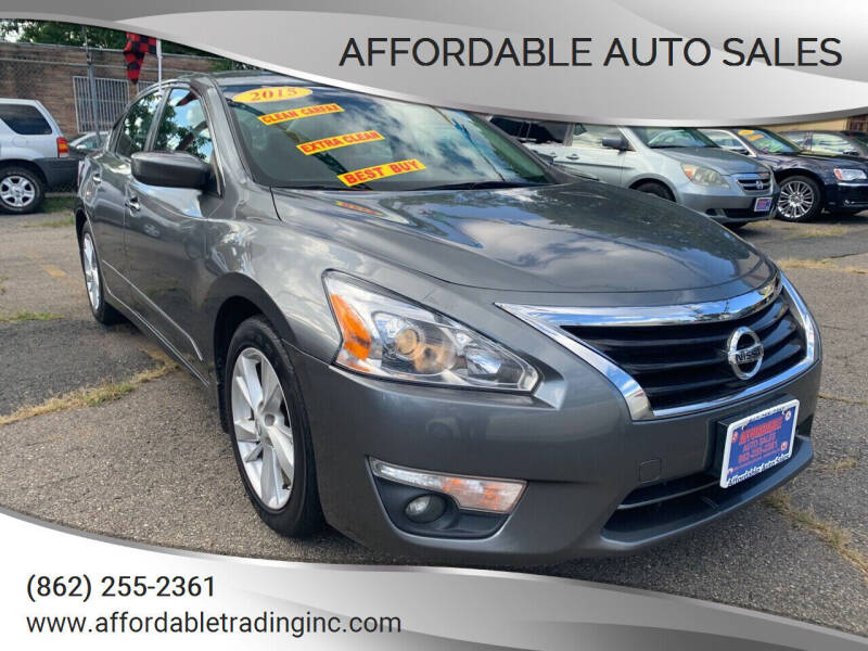 2015 Nissan Altima for sale at Affordable Auto Sales in Irvington NJ