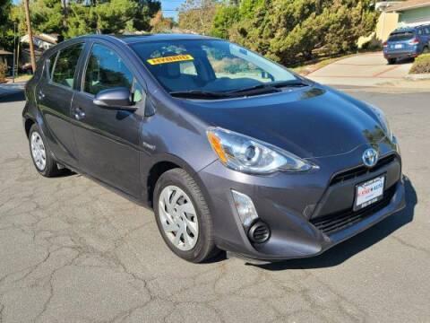 2015 Toyota Prius c for sale at CAR CITY SALES in La Crescenta CA
