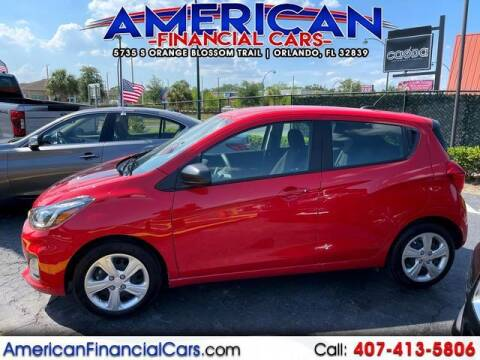 2020 Chevrolet Spark for sale at American Financial Cars in Orlando FL