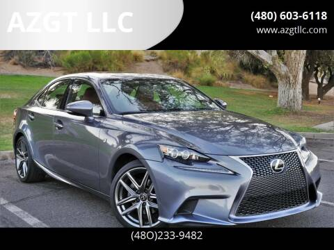 2015 Lexus IS 250 for sale at AZGT LLC in Phoenix AZ