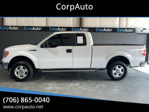 2011 Ford F-150 for sale at CorpAuto in Cleveland GA