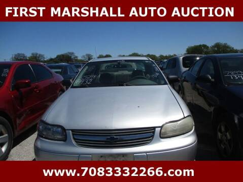 2005 Chevrolet Classic for sale at First Marshall Auto Auction in Harvey IL