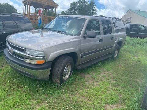 2001 Chevrolet Suburban for sale at Four Boys Motorsports in Wadena MN