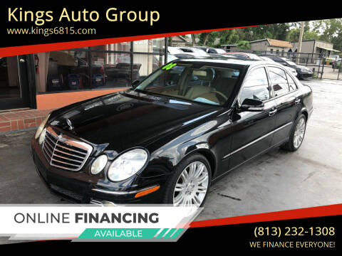 2008 Mercedes-Benz E-Class for sale at Kings Auto Group in Tampa FL