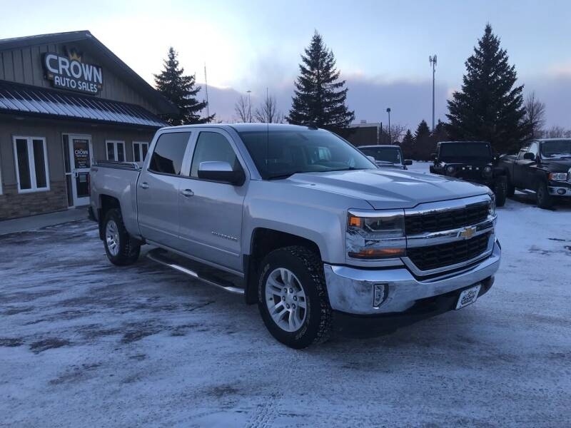 2016 Chevrolet Silverado 1500 for sale at Crown Motor Inc in Grand Forks ND