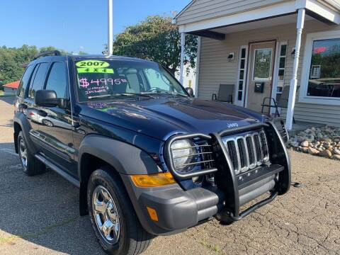 2007 Jeep Liberty for sale at G & G Auto Sales in Steubenville OH