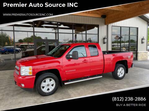 2013 Chevrolet Silverado 1500 for sale at Premier Auto Source INC in Terre Haute IN