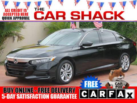 2018 Honda Accord for sale at The Car Shack in Hialeah FL