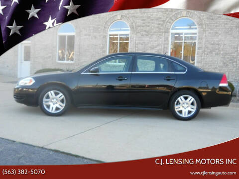 2016 Chevrolet Impala Limited for sale at C.J. Lensing Motors Inc in Decorah IA