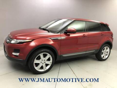 2015 Land Rover Range Rover Evoque for sale at J & M Automotive in Naugatuck CT