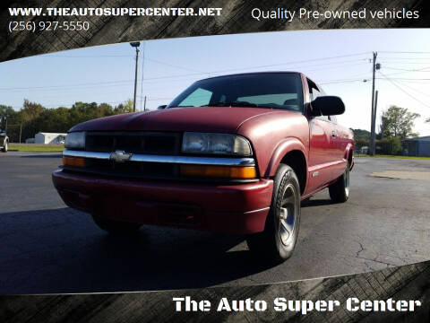 1999 Chevrolet S-10 for sale at The Auto Super Center in Centre AL