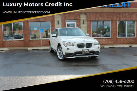 2015 BMW X1 for sale at Luxury Motors Credit Inc in Bridgeview IL