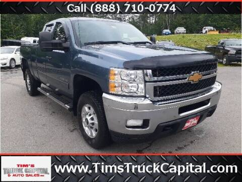 2013 Chevrolet Silverado 2500HD for sale at TTC AUTO OUTLET/TIM'S TRUCK CAPITAL & AUTO SALES INC ANNEX in Epsom NH