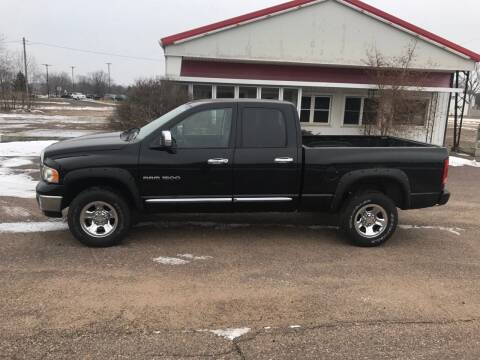 2004 Dodge Ram Pickup 1500 for sale at BLAESER AUTO LLC in Chippewa Falls WI