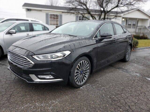 2017 Ford Fusion for sale at Paramount Motors in Taylor MI