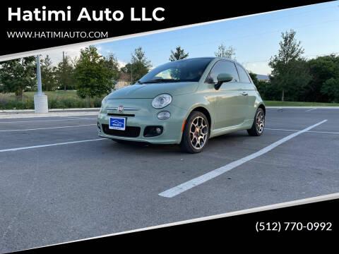 2012 FIAT 500 for sale at Hatimi Auto LLC in Austin TX