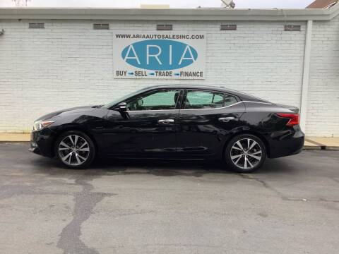 2017 Nissan Maxima for sale at ARIA AUTO SALES INC.COM in Raleigh NC